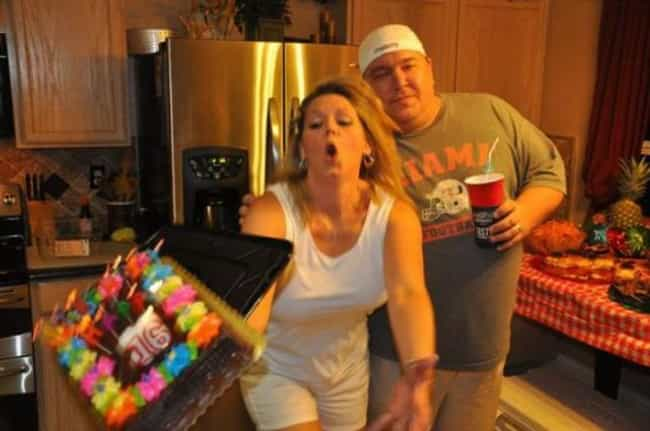 Happy Sweet 16th Birth....Oooo... is listed (or ranked) 4 on the list 40 Funny Birthday Fails