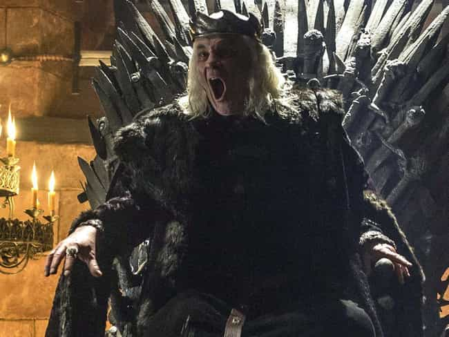 Aerys II is listed (or ranked) 3 on the list All Members of House Targaryen