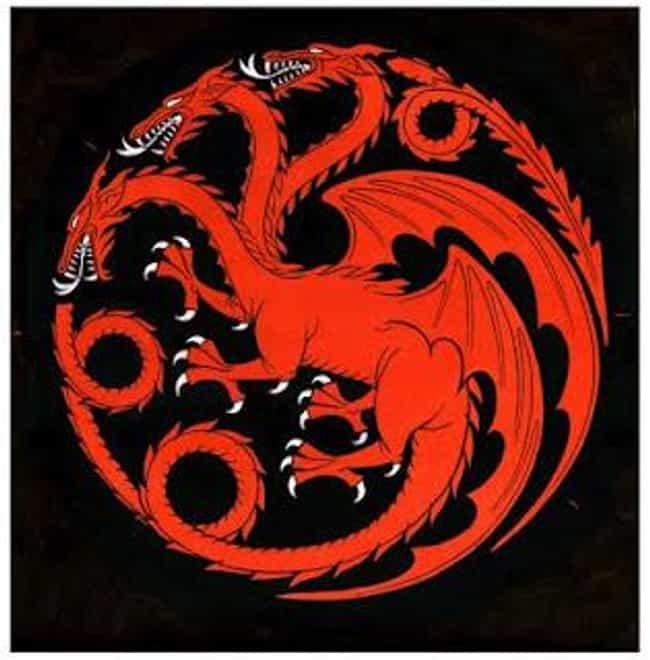 Rhaegar is listed (or ranked) 4 on the list All Members of House Targaryen