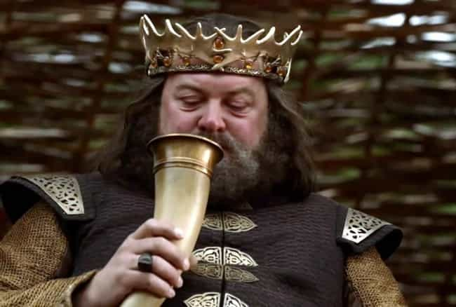 Main Character Dies is listed (or ranked) 2 on the list Game of Thrones Drinking Game