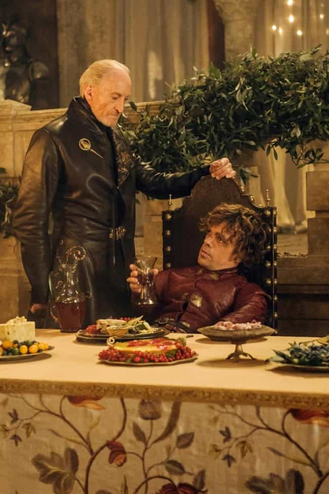 Wine is listed (or ranked) 3 on the list The Best Looking Foods From Game of Thrones