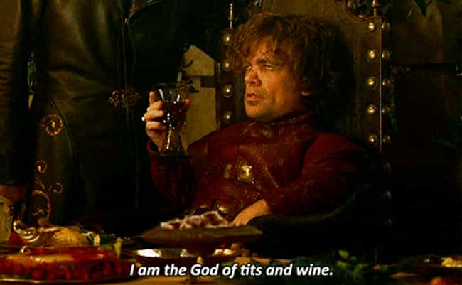Joke About Tyrion's Height is listed (or ranked) 4 on the list Game of Thrones Drinking Game