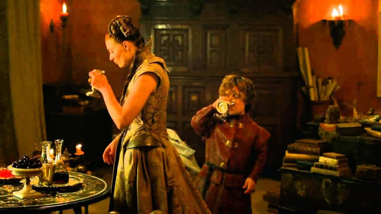 Tyrion One-Liner is listed (or ranked) 1 on the list Game of Thrones Drinking Game
