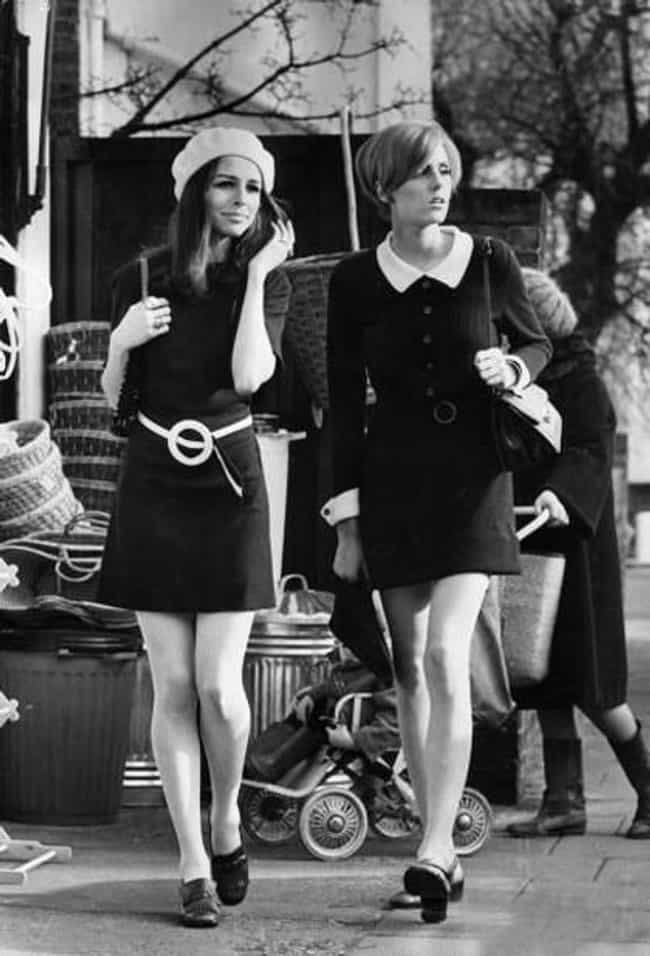 Mini-skirt is listed (or ranked) 1 on the list The Best Fashions from the 1960s