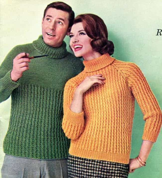 Turtleneck is listed (or ranked) 7 on the list The Best Fashions from the 1960s