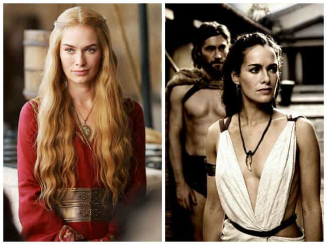 Lena Headey - 300 is listed (or ranked) 1 on the list Times You've Seen the GoT Actors Before