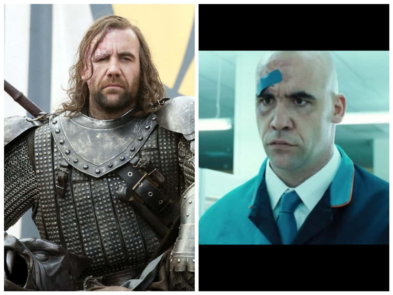 Rory McCann - Hot Fuzz is listed (or ranked) 2 on the list Times You've Seen the GoT Actors Before