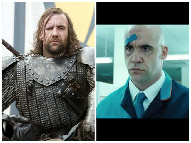 Rory McCann - Hot Fuzz ... is listed (or ranked) 2 on the list Times You've Seen the GoT Actors Before