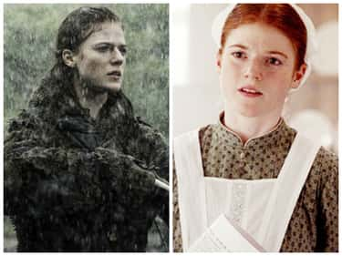 Rose Leslie - Downton Abbey is listed (or ranked) 5 on the list Times You've Seen the GoT Actors Before