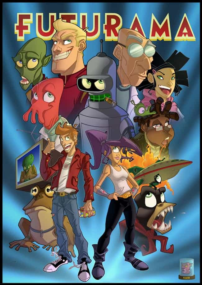Disney-Esque is listed (or ranked) 4 on the list The Very Best Futurama Fan Art