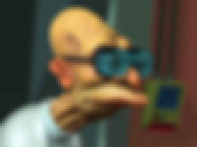 3-D Professor is listed (or ranked) 3 on the list The Very Best Futurama Fan Art