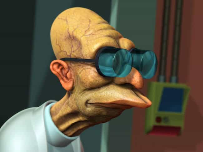3-D Professor is listed (or ranked) 1 on the list The Very Best Futurama Fan Art