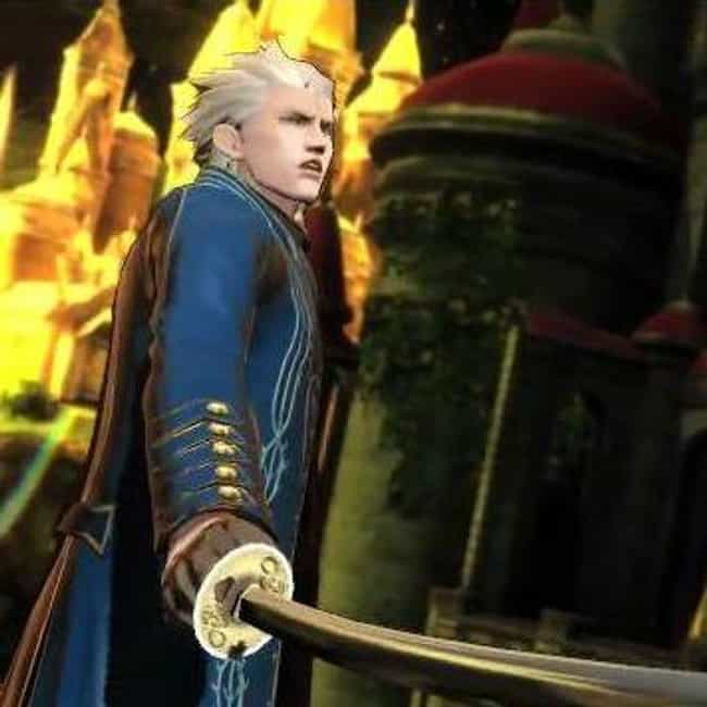 Vergil is listed (or ranked) 2 on the list The Best Video Game Characters with White Hair