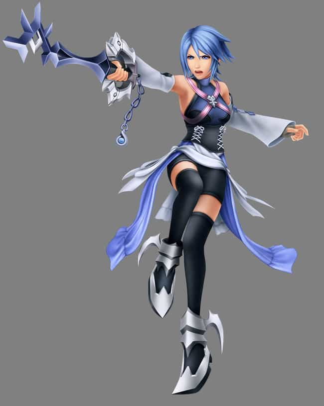Aqua is listed (or ranked) 1 on the list The Best Video Game Characters with Blue Hair