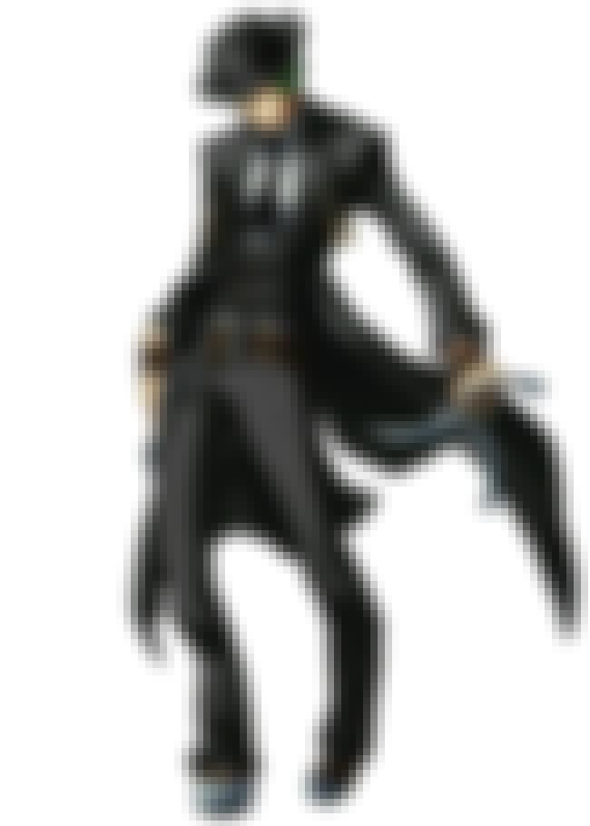 Hazama is listed (or ranked) 4 on the list The Best Video Game Characters with Green Hair