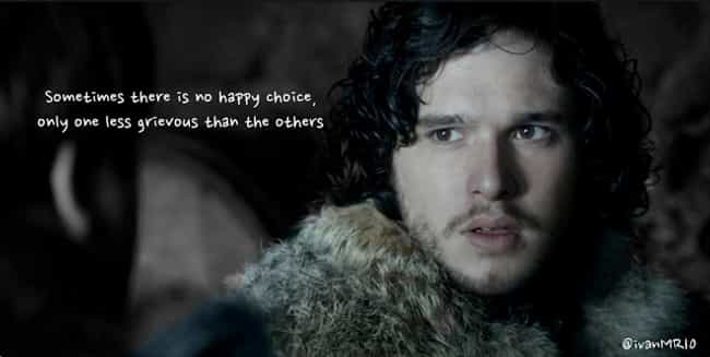 Love Quotes Game Of Thrones: Best Jon Snow Quotes From Game Of Thrones