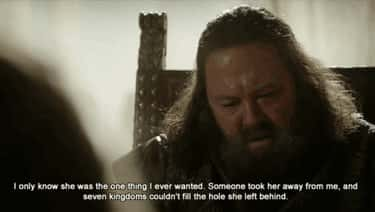 Re: Love is listed (or ranked) 1 on the list The Best Robert Baratheon Quotes