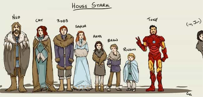 One of These Starks Is N... is listed (or ranked) 4 on the list The Best Game of Thrones Fan Art You'll Ever See