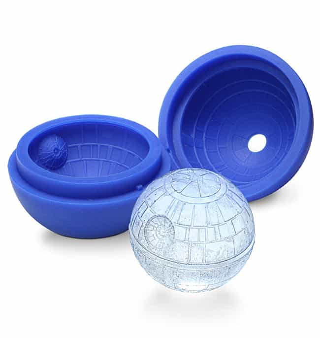 Death Star Ice Cubes is listed (or ranked) 1 on the list 43 Star Wars Gifts Your Nerd Will Love