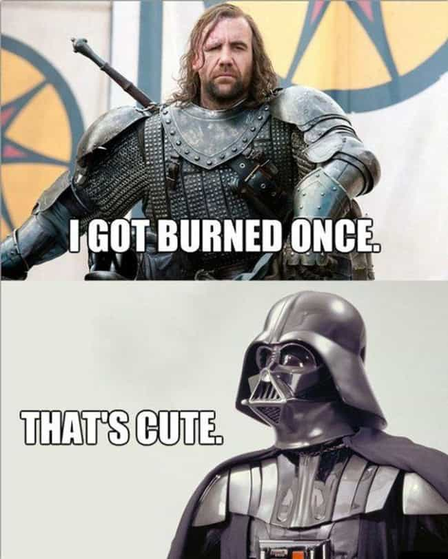 But It Was His Brother! is listed (or ranked) 3 on the list 20 Epic 'Game Of Thrones' Meets 'Star Wars' Memes