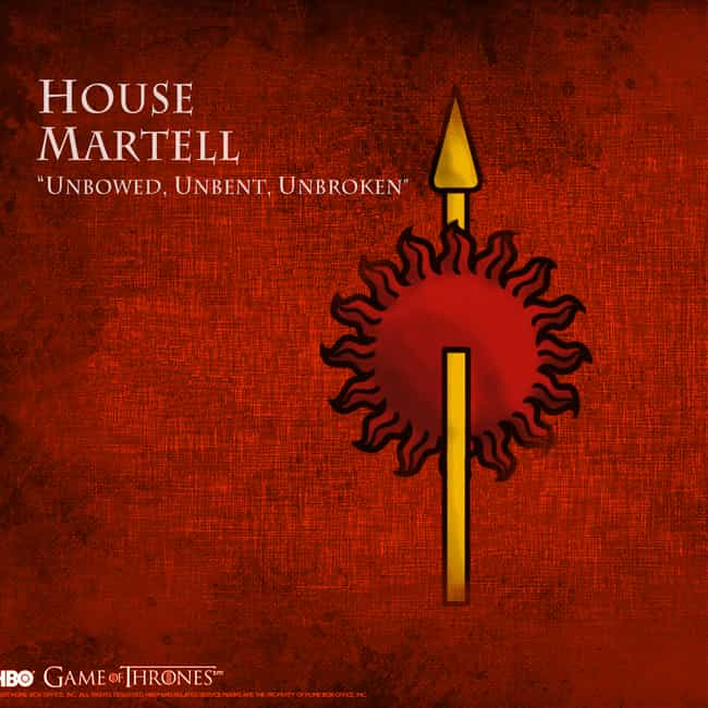 Mellario of Norvos is listed (or ranked) 4 on the list All Members of House Martell