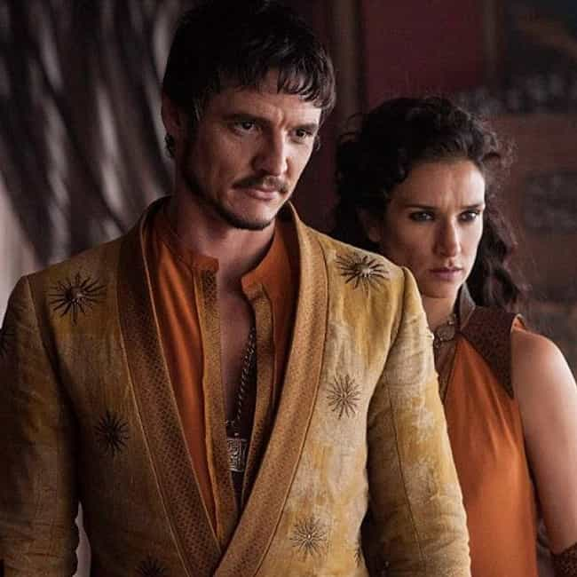Oberyn Nymeros Martell ... is listed (or ranked) 3 on the list All Members of House Martell