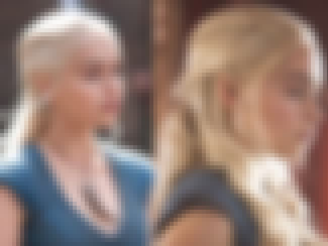 Daenerys' Dutch Braid Look is listed (or ranked) 1 on the list The Best Hairstyles on Game of Thrones