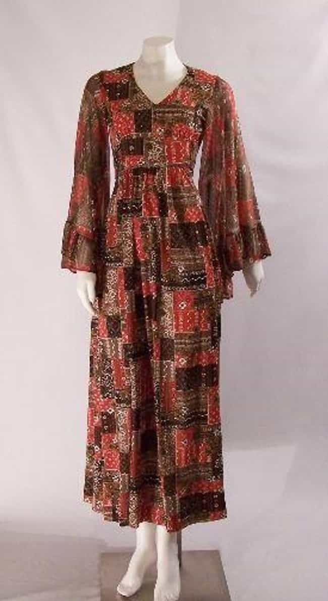 Maxi Dress is listed (or ranked) 4 on the list The Best Fashions from the 1970s