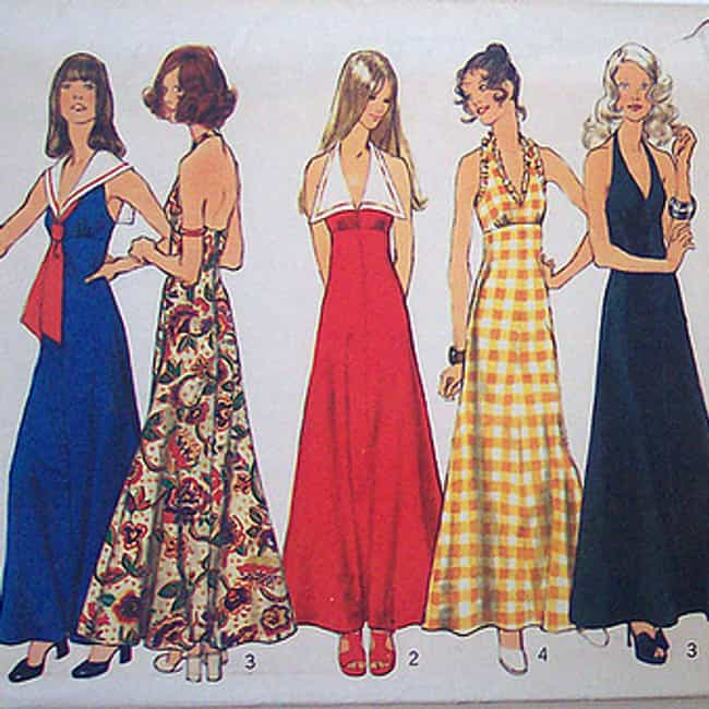 Halter Dress is listed (or ranked) 1 on the list The Best Fashions from the 1970s