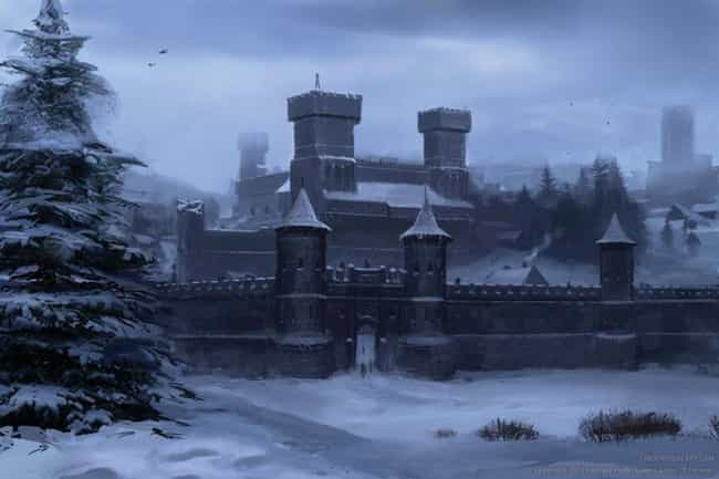 Winterfell is listed (or ranked) 1 on the list A History of the Top 15 Locations in Westeros