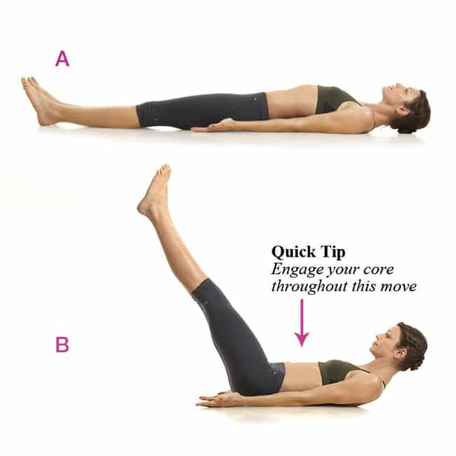 Leg Raises is listed (or ranked) 2 on the list The Best Exercises for Your Abs
