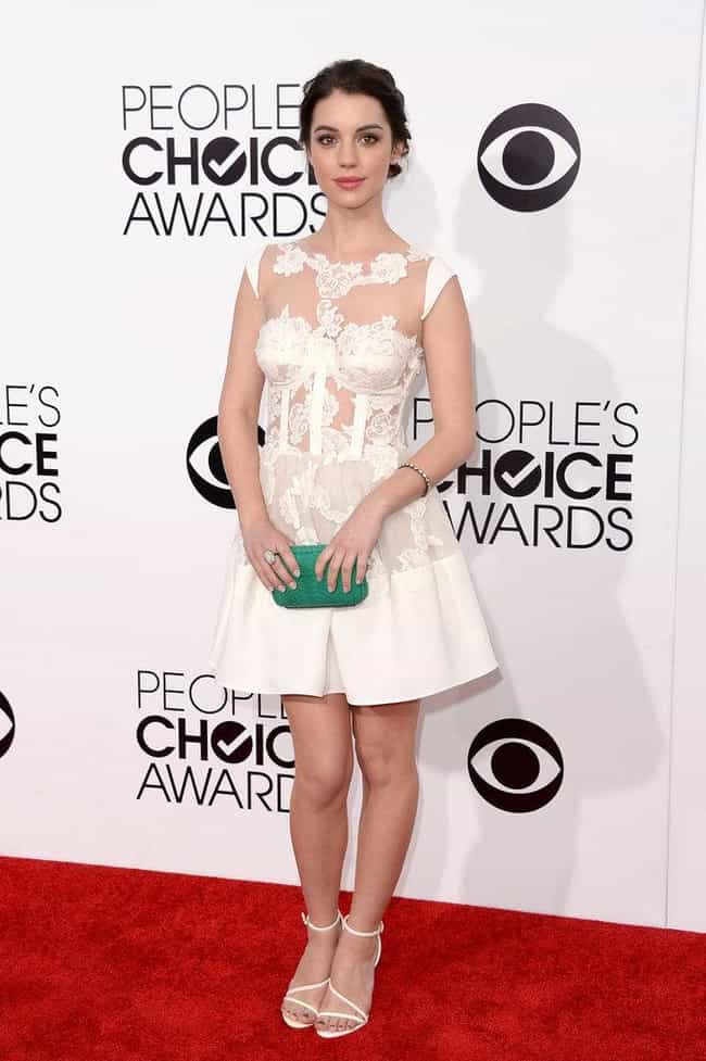 Adelaide Kane in a White Lace ... is listed (or ranked) 3 on the list The Most Stunning Adelaide Kane Photos