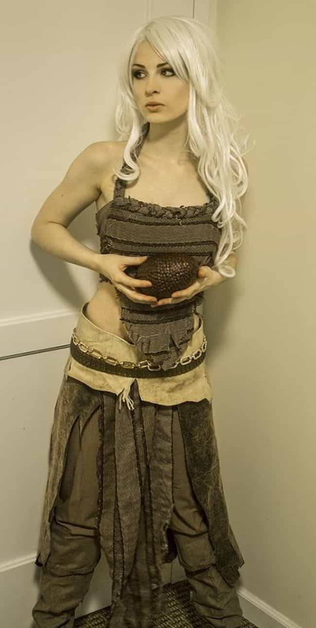 Khaleesi's Precious is listed (or ranked) 3 on the list Game of Thrones Cosplay: Girls Dressed Like Khaleesi
