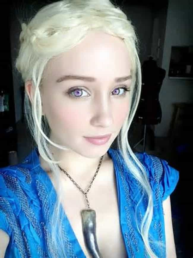 Spot On Khaleesi is listed (or ranked) 2 on the list Game of Thrones Cosplay: Girls Dressed Like Khaleesi