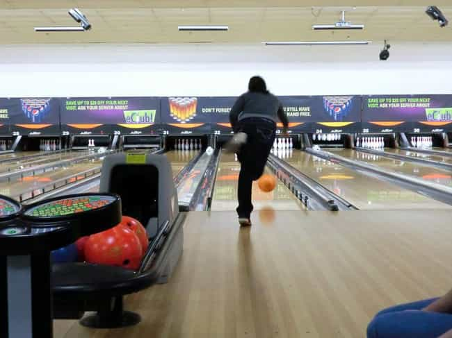 Bowling is listed (or ranked) 2 on the list The Best Date Ideas for a Rainy Day