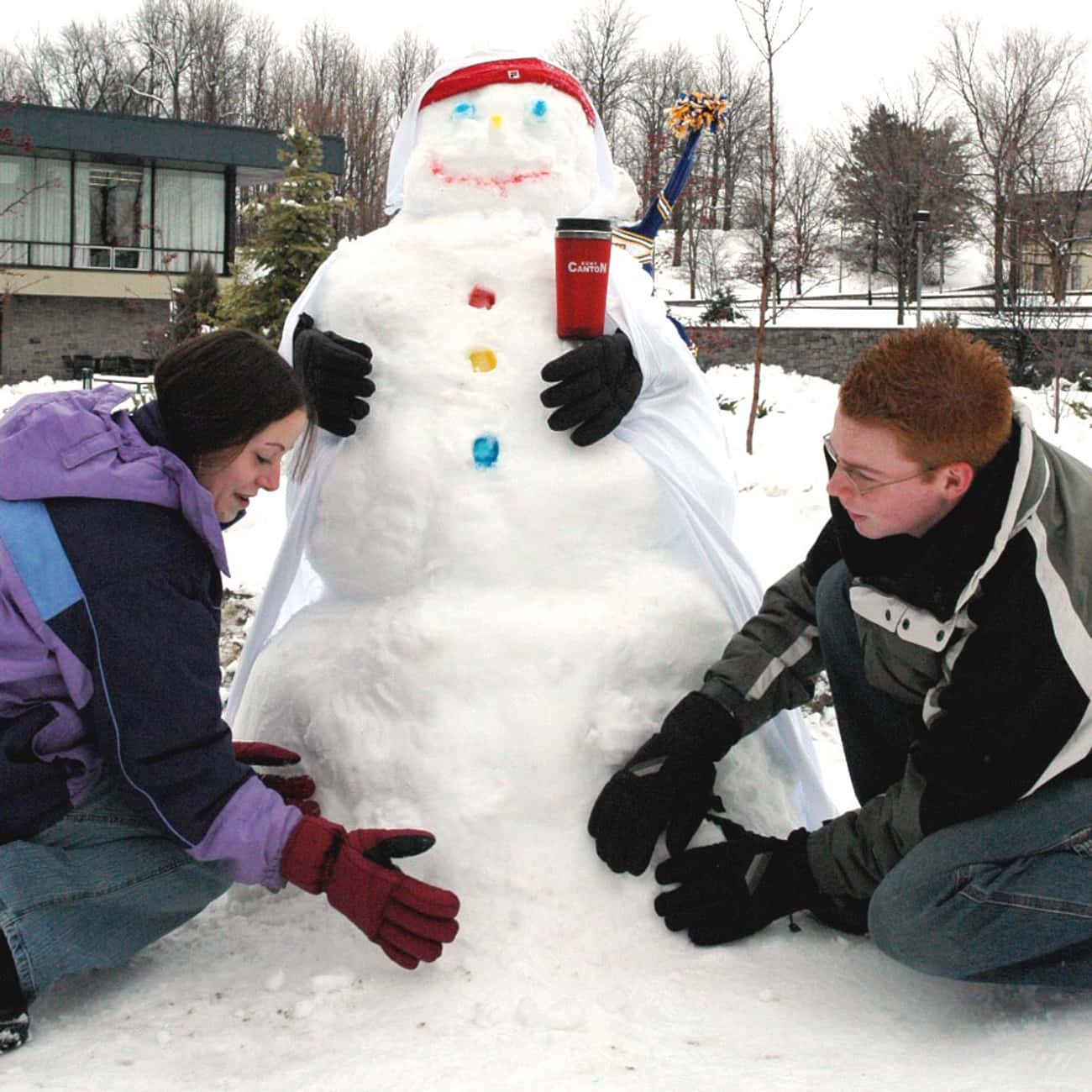 Build a Snowman is listed (or ranked) 3 on the list Date Ideas for Winter