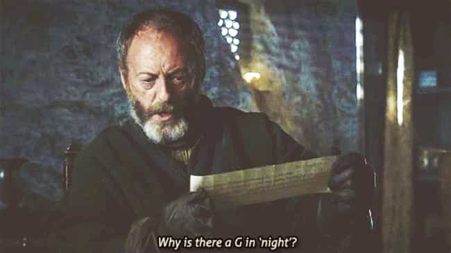 Learning to Read is listed (or ranked) 3 on the list The Best Davos Seaworth Quotes