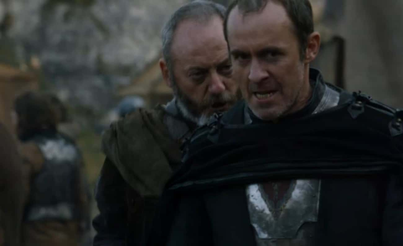 Hate and Suffering is listed (or ranked) 3 on the list The Best Stannis Baratheon Quotes