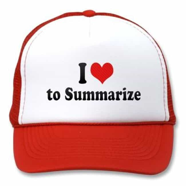 Summarize is listed (or ranked) 3 on the list The Best Ways to Study