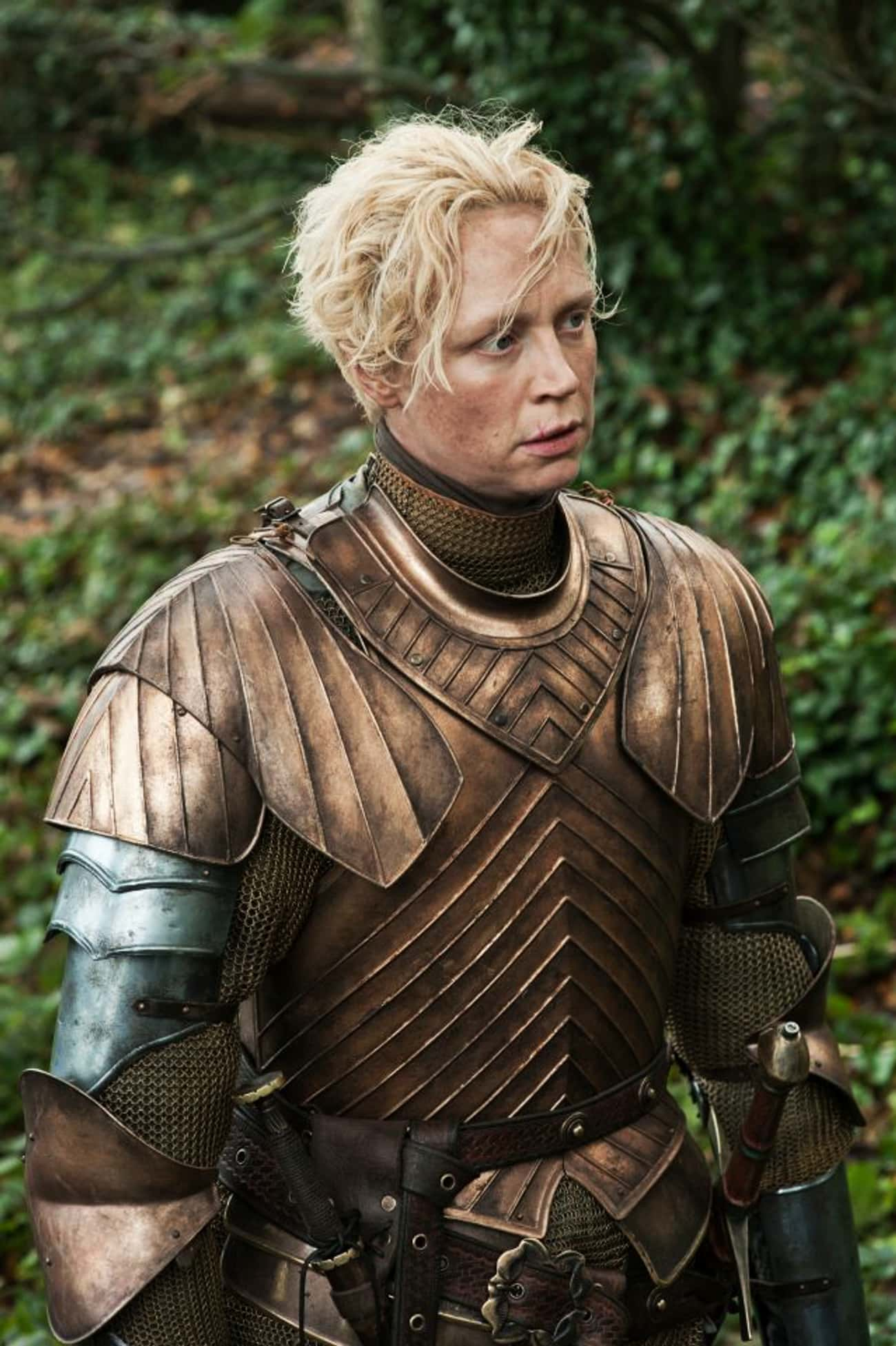 Trust is listed (or ranked) 4 on the list The Best Brienne of Tarth Quotes