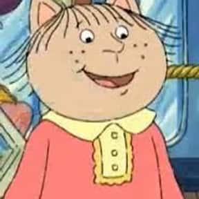 Jenna Morgan is listed (or ranked) 24 on the list All Arthur Characters, Ranked Best to Worst