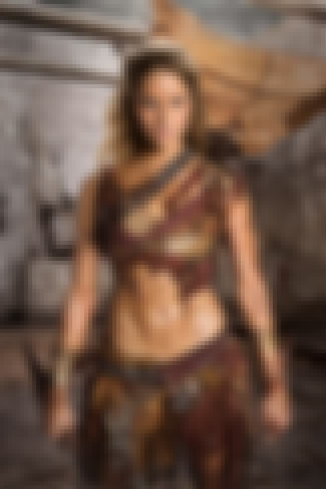 Saxa is listed (or ranked) 2 on the list The Hottest Women from Spartacus TV Series