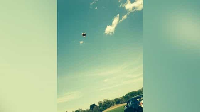 A Bounce House Goes Airb... is listed (or ranked) 1 on the list The Craziest Near Death Accidents Caused By Toys