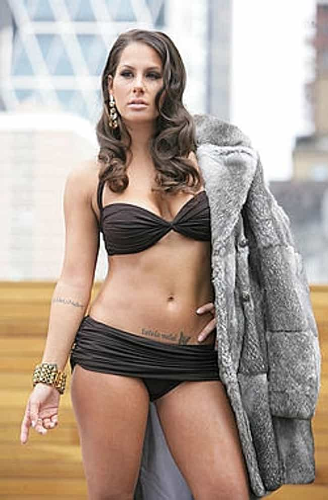 With a luxurious fur coat over... is listed (or ranked) 2 on the list Hot Ashley Alexandra Dupre Pics