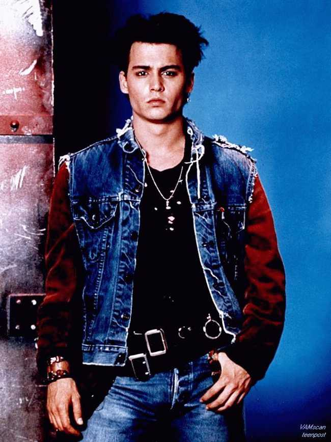 Johnny Depp Channeling J... is listed (or ranked) 4 on the list 25 Pictures of Young Johnny Depp