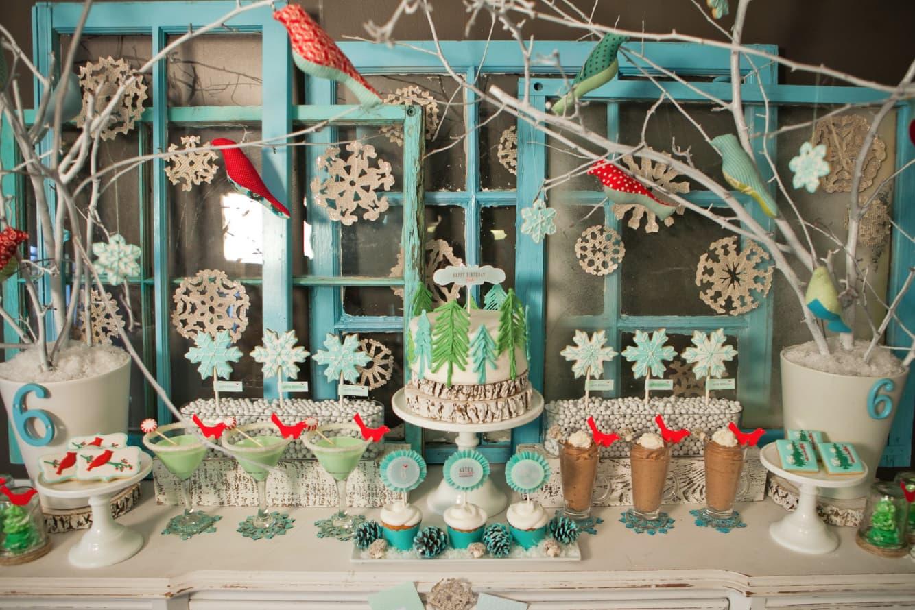 Random Very Best Winter Birthday Party Ideas For Kids
