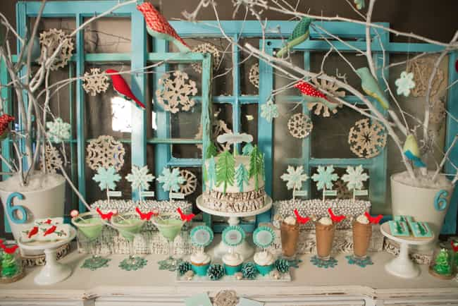 Winter Wonderland is listed (or ranked) 1 on the list The Very Best Winter Birthday Party Ideas For Kids