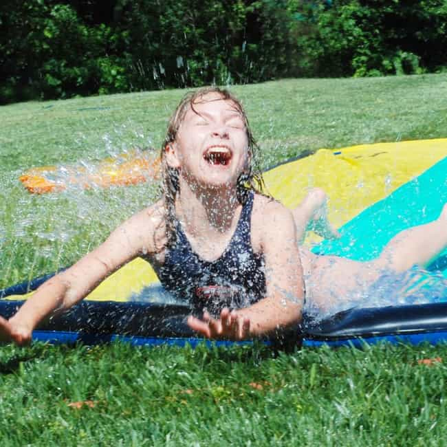 "Backyard ""Wipeout&q... is listed (or ranked) 2 on the list Great Summer Birthday Party Ideas for Kids"