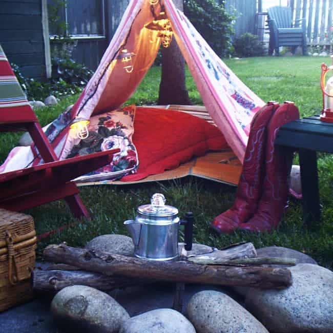 Go Backyard Camping is listed (or ranked) 4 on the list The Best Free Summer Activities for Kids