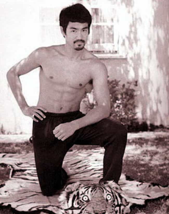 That Tiger Didn't Stand a ... is listed (or ranked) 1 on the list 21 Photos of Young Bruce Lee